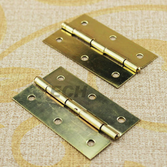 Brass Finish Steel Door Hinge